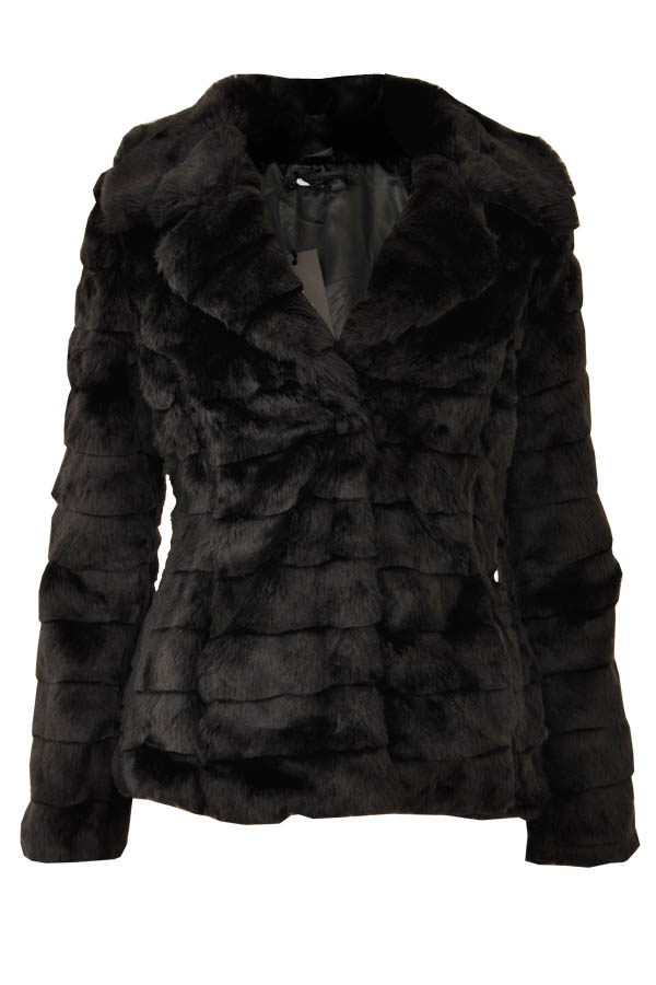Ladies Short Fur Party Jacket